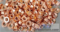 Copper Plated Exhaust Nut 8mm x 1.25