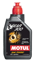 Motul Gear 300 Manual Transmission Fluid, 1QT.