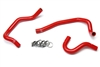 HPS Red Heater Hose Kit Toyota 86-92 Supra MK3 Turbo & NA [7MGE / 7MGTE] Left Hand Drive