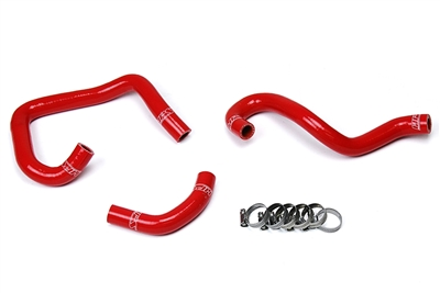 HPS Red Heater Hose Kit Toyota 93-98 Supra MK4 2JZ Turbo Left Hand Drive