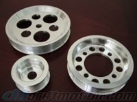 JZ Pulley Kit V2.0, 6061 Aluminum