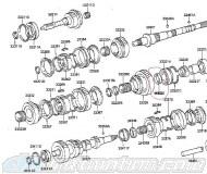 R154 1ST Gear Thrust Washer