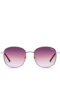"Quay Rose/Purple Fade Lens""Jezabell"" Sunglasses"