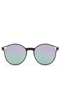 Quay Black/Purple Lens 'Here We Are' Sunglasses