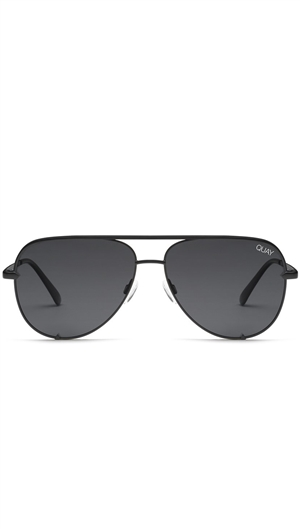 "Quay Black/Smoke Fade Lens ""High Key Mini"" Sunglasses"