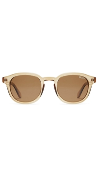 Quay Toff./Brown Lens 'Walk On' Sunglasses