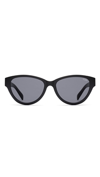 Quay 'Rizzo' Black/Smoke Lens Sunglasses