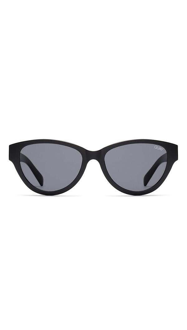 aadc8c4b97 Quay  Rizzo  Black Smoke Lens Sunglasses