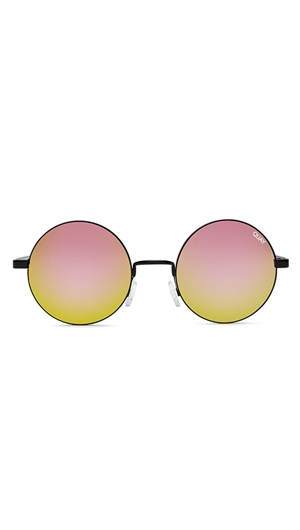 Quay Black/Mirror Lens 'Electric Dreams' Sunglasses