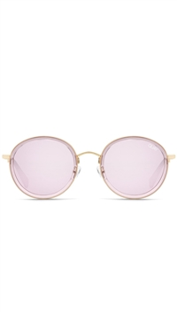 "Quay Violet/ Pink Mirror ""Firefly"" Sunglasses"