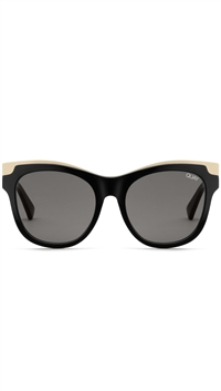 "Quay Black Gold/Smoke Lens ""It's My Way"" Sunglasses"