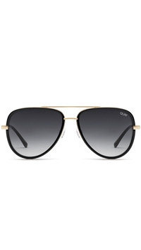 "Quay Black/Smoke Fade Lens ""All In"" Sunglasses"