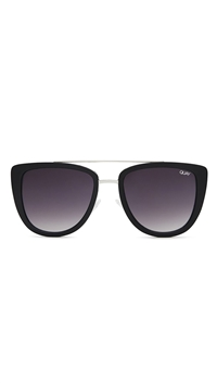 Quay Black/Smoke Lens 'French Kiss' Sunglasses