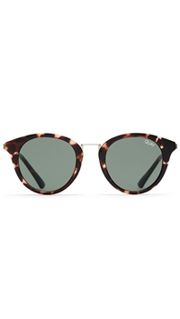 Quay Tort/ Green Lens 'Gotta Run' Sunglasses