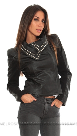 Growze Los Angeles Black Tailored Leather Jacket