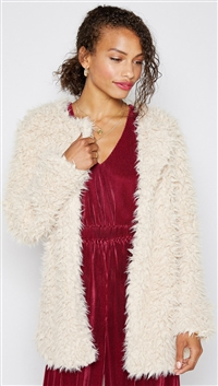Sadie & Sage Latte 'Hey Lover' Coat