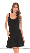 Torn By Ronny Kobo Black Lorianna Knit Dress