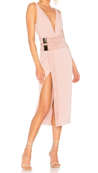 "House Of Zhivago Blush ""LE LOFT"" Jersey Dress"