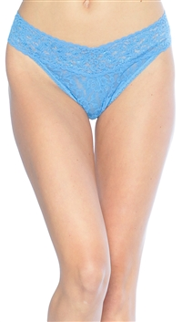 Hanky Panky Forget Me Not Blue Original Thong