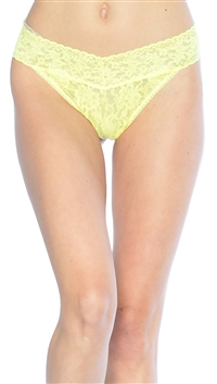 Hanky Panky Yellow Original Thong