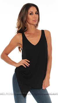 Feel the Piece Black Muscle V-Neck