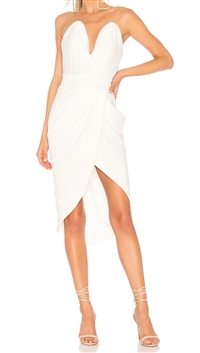 "House Of Zhivago White ""Mad World"" Dress"