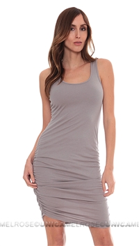 Bobi Diamond Head Tank Top Mini Dress