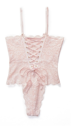 Hot As Hell Naked Truth (Light Pink)  Spinster  Reversible Bodysuit 3540be320