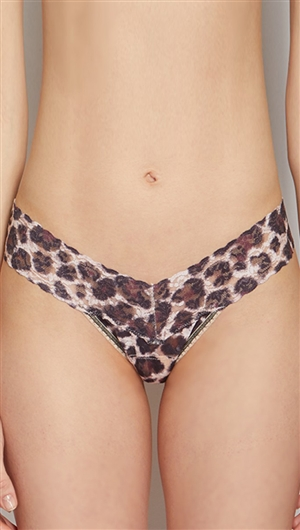 Hanky Panky Brown 'Sophisticated' Low Rise Thong
