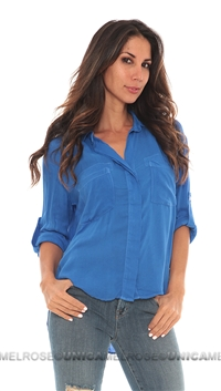 Bella Dahl Slipback Button Down Shirt