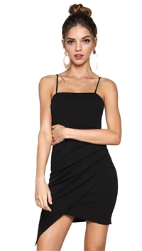 Unica Exclusive Strap Mini Dress