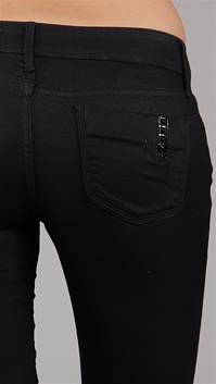 Black Orchid Jegging with Studs on Pocket