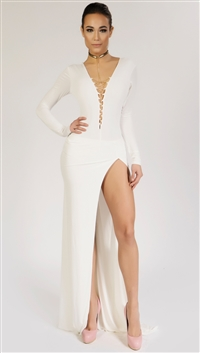 Savee Couture White 'A Night Out' Body Suit