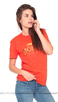 Brian Lichtenberg Homies Orange Tee with Gold Foil