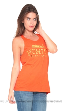 Brian Lichtenberg Homies Orange Tank Top with Gold Foil