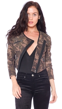 Cut 25 Army Suede Jacket