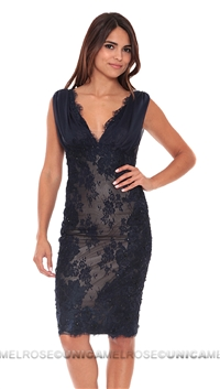 Mandalay Navy Dress