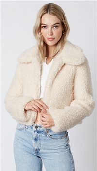 Cotton Candy Ivory Jacket
