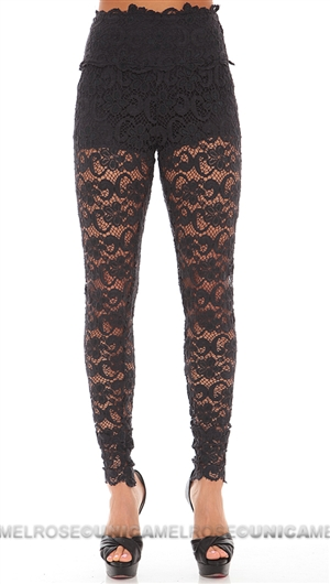 Nightcap Dark Charcoal 'Dixie Lace' Pant