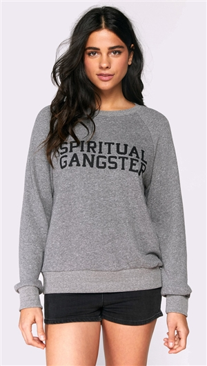 Spiritual Gangster Varsity Old School Sweatshirt