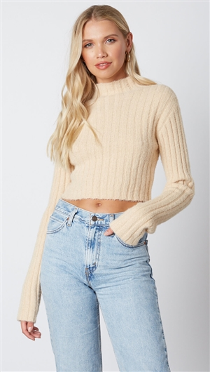 Cotton Candy Nude Sweater