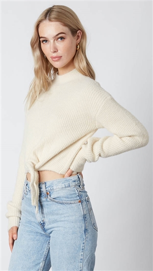 Cotton Candy Ivory Sweater