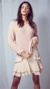 Sadie & Sage Blush 'Little Love' Sweater