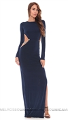 Savee Navy Long Dress