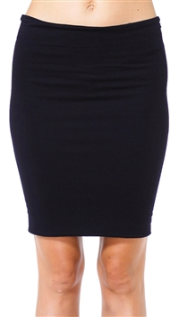 Riller & Fount Black Bonnie Tube Skirt