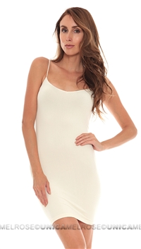 Free People Ivory Slip Seamless Mini