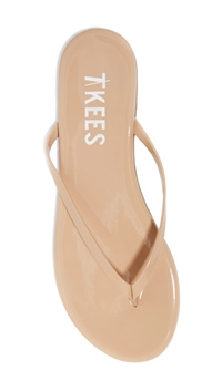 Tkees Gloss Finish Cocobutter 'Foundations' Flip Flop