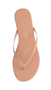 Tkees Matte Finish Nude Beach 'Foundations' Flip Flop