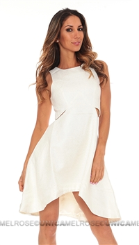 Finders Keepers Ivory Call me Dress