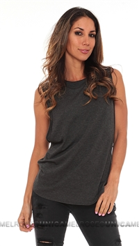 Riller & Fount Alex Crew Neck Muscle Tee